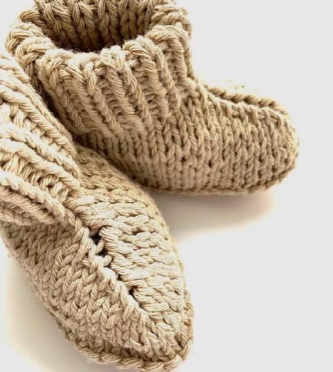 knitwear booties